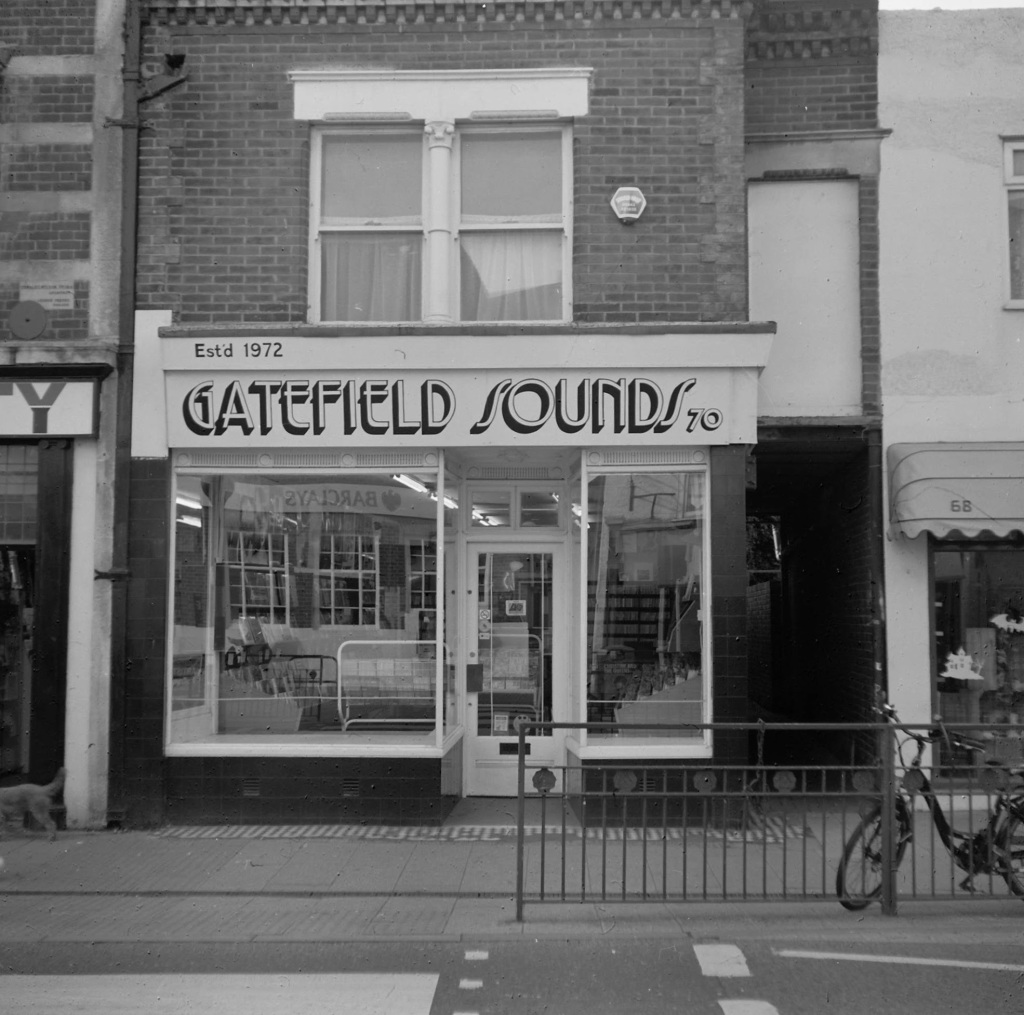 Gatefield Sounds Record Shop, Whitstable