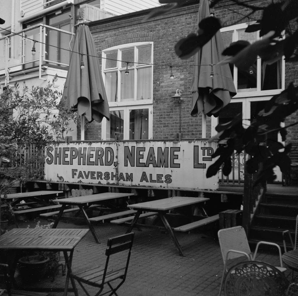 Shepherd Neame Sign, Whitstable