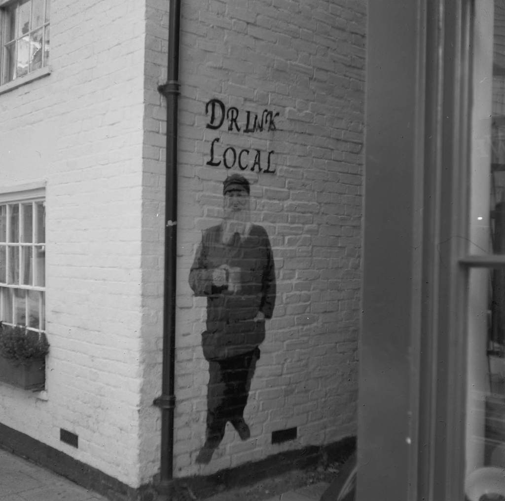 Graffitti, Whitstable High Street