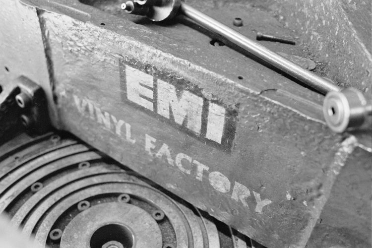 EMI 1400 Vinyl Record Press